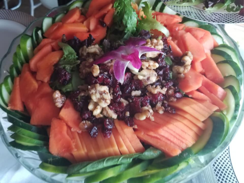 Island Papaya Salad