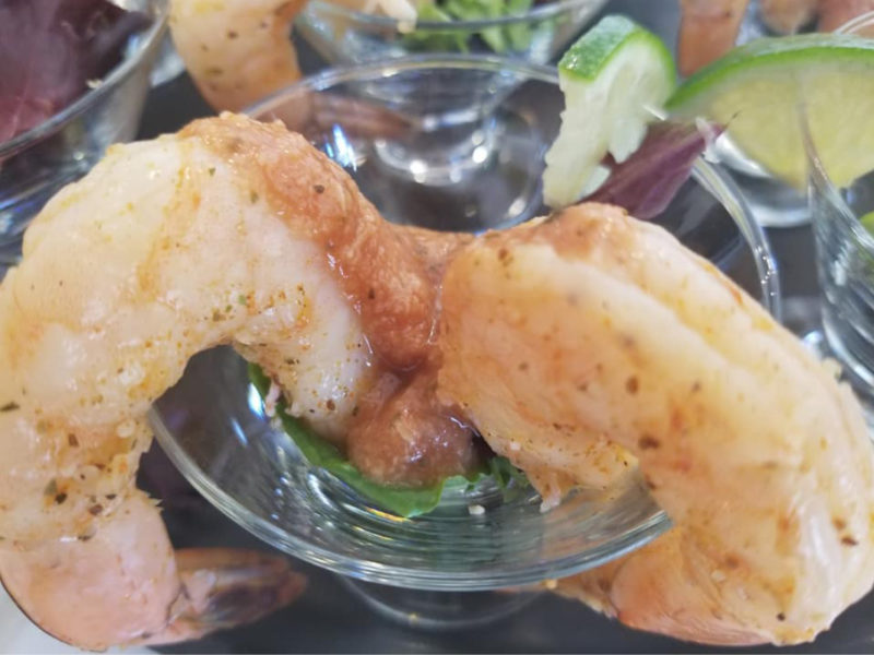 Tequila Shrimp Martini